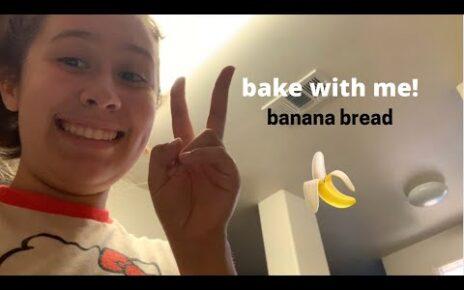 yt 238450 bake with me banana bread recipe carina sara 464x290 - bake with me! (banana bread recipe) - carina sara