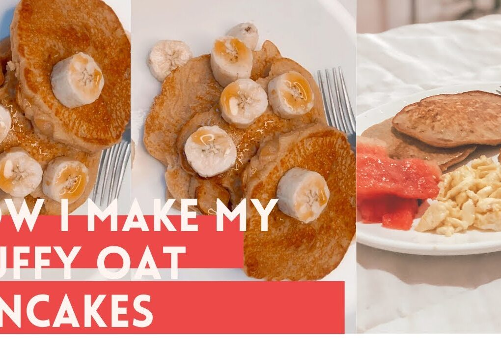 yt 238522 HOW I MAKE MY FLUFFY OAT PANCAKES COOK WITH ME 1020x720 - HOW I MAKE MY FLUFFY OAT PANCAKES 🥞 |COOK WITH ME |