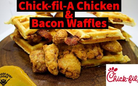 yt 238563 Chick fil A Chicken Nuggets and Bacon Waffles 464x290 - Chick-fil-A Chicken Nuggets and Bacon Waffles