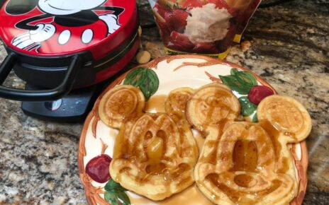 yt 238575 How To Make Mickey Waffles The SAME Ones Disney Makes in the Parks and Resorts Disney Cooking 464x290 - How To Make Mickey Waffles!  The SAME Ones Disney Makes in the Parks and Resorts! | Disney Cooking
