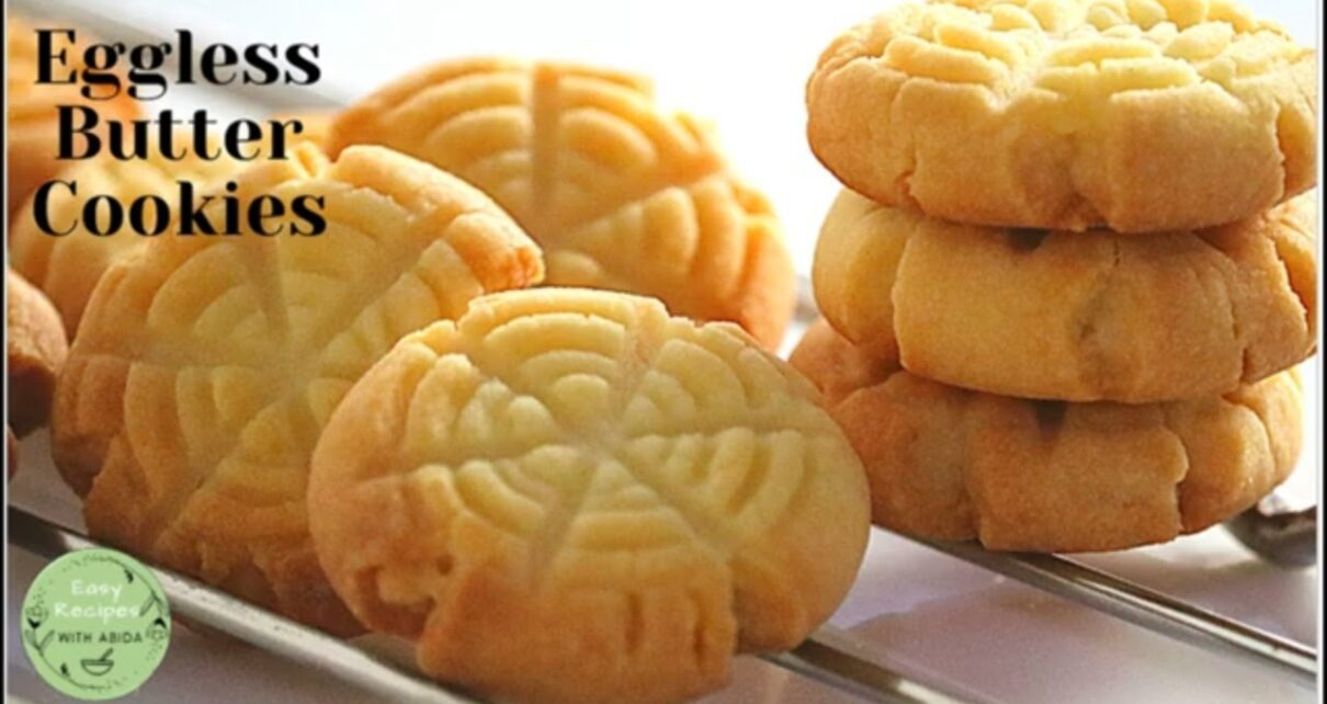 yt 238697 Butter Cookies Recipe Eggless Butter Cookies How to make melt in mouth butter cookies Biscuit 1210x642 - Butter Cookies Recipe - Eggless Butter Cookies | How to make melt in mouth butter cookies | Biscuit