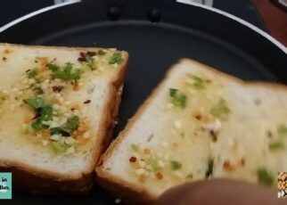 yt 238780 Easy and Cheesy Garlic bread in 15 minutes Cook Shook With Shweta 322x230 - Easy and Cheesy Garlic bread in 15 minutes | Cook Shook With Shweta