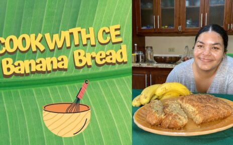 yt 238784 COOK WITH CE BANANA BREAD 464x290 - COOK WITH CE| BANANA BREAD