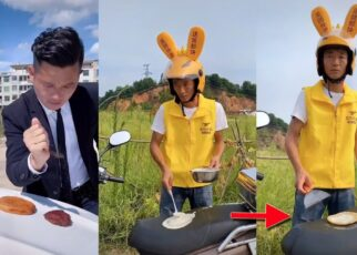 yt 238922 BAKE PANCAKE ON MOTORBIKE HOT WEATHER COOKING SHOW 322x230 - BAKE PANCAKE ON MOTORBIKE ! HOT WEATHER COOKING SHOW !