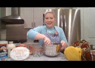 yt 239151 Baking with Pastor Alexandra Pumpkin Bread 322x230 - Baking with Pastor Alexandra: Pumpkin Bread