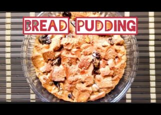 yt 239167 Baked bread pudding Easy tasty 322x230 - Baked bread pudding- Easy & tasty