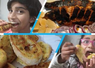 yt 239461 Garlic Bread and Fish Fry Kids Cooking Lesson 4 322x230 - Garlic Bread and Fish Fry - Kids Cooking Lesson 4