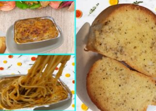 yt 239477 spaghetti with cheese sauce Garlic Bread Bake Spaghetti Yummy Spaghetti vanzTere vlogs 322x230 - spaghetti with cheese sauce- Garlic Bread- Bake Spaghetti-Yummy Spaghetti-vanz&Tere vlogs