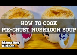 yt 239649 How to cook Pie Crust Mushroom Soup Step by Step 322x230 - How to cook Pie-Crust Mushroom Soup / 香脆煎饼蘑菇汤 (Step by Step)
