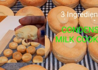 yt 239724 How To Make Homemade Condense Milk Cookies3 Ingredients 322x230 - How To Make Homemade  Condense Milk Cookies|3 Ingredients