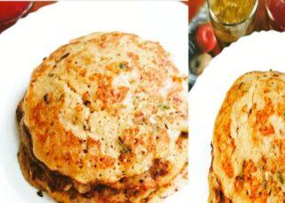 yt 239914 Bread Veggie Pancake 5 1 pancake  322x230 - Bread Veggie Pancake केवल 5 मिनट में 1 चम्मच तेल मे बनाये ब्रेड का हेल्दी और टेस्टी नाश्ता pancake 🥞