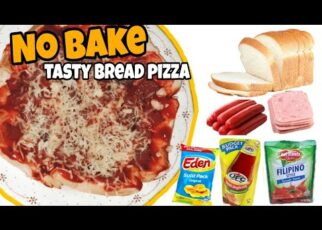 yt 240574 No bake Tasty bread Pizza Pasok sa budget mo 322x230 - No bake Tasty bread Pizza ||Pasok sa budget mo