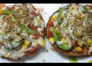 yt 240891 Bread Pizza Pizza at home Easy to cook No Oven Tawa Pizza No Yeast Cheese Overloaded 322x230 - Bread Pizza | Pizza at home | Easy to cook | No Oven | Tawa Pizza | No Yeast | Cheese Overloaded
