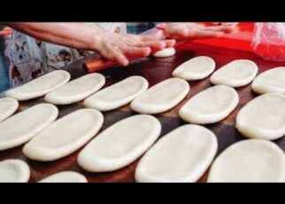 yt 240951 The Secret Of Taiwan Style Bake Bread Taiwanese Traditional Food 322x230 - The Secret Of Taiwan Style Bake Bread / 南港老張炭烤燒餅 - Taiwanese Traditional Food