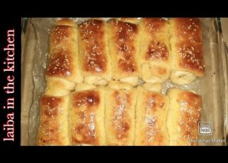 yt 241269 chicken dinner roll bread roll baked bread roll in Urdu Englishlaiba in the kitchen 322x230 - chicken dinner roll , bread roll , baked bread roll in Urdu, English|laiba in the kitchen