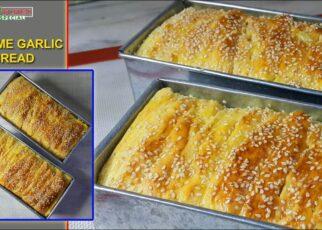 yt 241273 Sesame Garlic Bread Recipe Easy Homemade Bread Recipe Kitchen Special SST 322x230 - Sesame Garlic Bread Recipe - Easy Homemade Bread Recipe - Kitchen Special SST