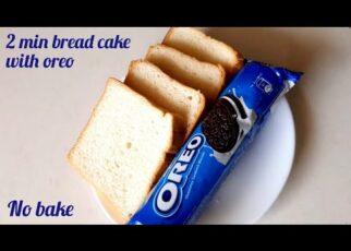 yt 241289 2 Minute Bread Cake With Oreo No Bake Oreo Cake Oreo Cake Oreo 322x230 - 2 Minute Bread Cake With Oreo / No Bake Oreo Cake / Oreo Cake / Oreo