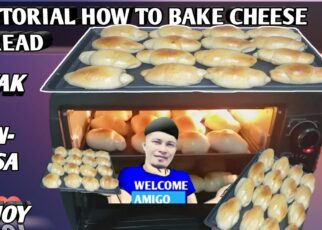 yt 241320 TUTORIAL HOW TO BAKE CHEESE BREAD 322x230 - TUTORIAL HOW TO BAKE CHEESE BREAD