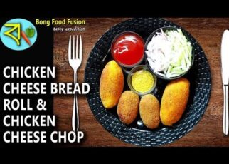 yt 241619 How to cook Chicken Cheese Bread Roll Chicken Cheese Chop Two Varieties of Snacks Bengali Style 322x230 - How to cook Chicken Cheese Bread Roll | Chicken Cheese Chop | Two Varieties of Snacks Bengali Style