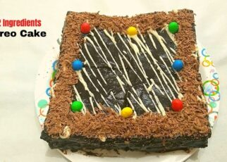 yt 241663 Bread Cake With Oreo Bread Cake Without Oven No Bake Oreo Cake 322x230 - Bread Cake With Oreo | Bread Cake Without Oven | No Bake Oreo Cake
