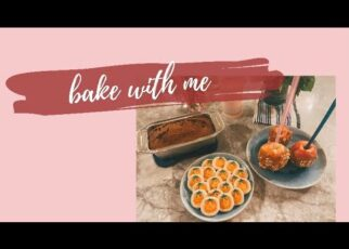 yt 242015 bake with me pumpkin cookies caramel apples pumpkin bread  322x230 - bake with me | pumpkin cookies, caramel apples + pumpkin bread 🎃✨