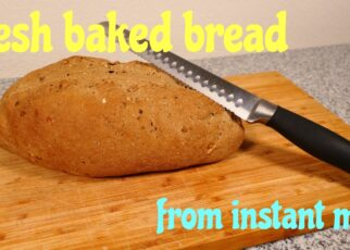 yt 242038 Bake fresh bread from instant bread mix 322x230 - Bake fresh bread from instant bread mix