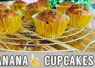 yt 242352 Banana bread Banana cupcake Bake with me Banana cupcake recipe 322x230 - Banana bread | Banana cupcake | Bake with me! | Banana cupcake recipe