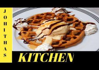 yt 242467 Sweet and Tasty Waffles Recipe Tasty Waffles Done by Johithas Kitchen 322x230 - Sweet and Tasty Waffles Recipe   Tasty Waffles   Done by Johitha's Kitchen