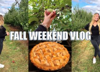 yt 242490 FALL WEEKEND VLOG apple picking in NY baking apple pie and more 322x230 - FALL WEEKEND VLOG🍂: apple picking in NY, baking apple pie and more...