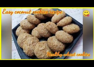 yt 242538 How to make wheat coconut cookies. Quick easy and healthy recipe  322x230 - How to make  wheat coconut cookies. Quick,  easy and healthy recipe 😋😋