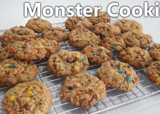 yt 242542 Monster cookies Everything Cookies How to make Monster Cookies 322x230 - Monster cookies   Everything Cookies   How to make Monster Cookies