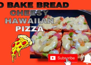 yt 242703 NO BAKE BREAD CHEESY HAWAIIAN PIZZA TUTORIAL ATE VERSION I MADE A MIDNIGHT SNACK FOR MY FAMILY 322x230 - NO BAKE BREAD CHEESY HAWAIIAN PIZZA /TUTORIAL/ (ATE VERSION) I MADE A MIDNIGHT SNACK FOR MY FAMILY!!