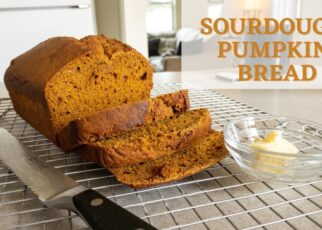 yt 242707 Bake with Me Sourdough Pumpkin Bread Sarah Poppy 322x230 - Bake with Me / Sourdough Pumpkin Bread / Sarah Poppy