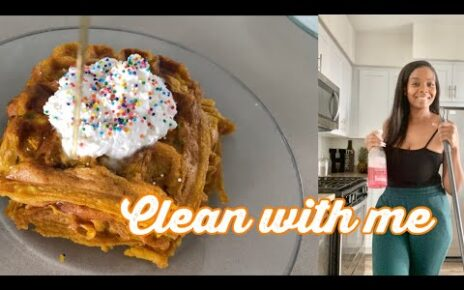 yt 243391 COOK CLEAN WITH ME PUMPKIN SPICE WAFFLES DEEP CLEAN KITCHEN CLEANING MOTIVATION 464x290 - COOK & CLEAN WITH ME!!! PUMPKIN SPICE WAFFLES | DEEP CLEAN KITCHEN | CLEANING MOTIVATION