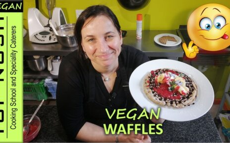 yt 243395 RECIPE Vegan Gluten Free Waffles Top Nosh Cooking School 464x290 - RECIPE | Vegan Gluten Free Waffles | Top Nosh Cooking School