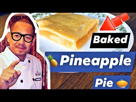 yt 243403 Baked Pineapple Pie - Baked Pineapple Pie