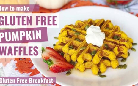 yt 243782 GLUTEN FREE PUMPKIN WAFFLES Gluten Free Breakfast 464x290 - GLUTEN FREE PUMPKIN WAFFLES | Gluten Free Breakfast