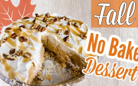 yt 243821 AMAZING Fall Dessert No Bake Turtle Pumpkin Pie Michelles Halloween Boo Bash  464x290 - AMAZING Fall Dessert  | No Bake Turtle Pumpkin Pie | Michelle's Halloween Boo Bash 🎃🍂