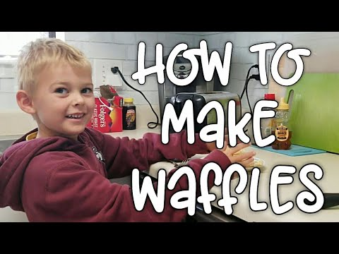 yt 249501 How To Make Waffles The Hawkins Way  - How To Make Waffles - The Hawkins Way 🤣