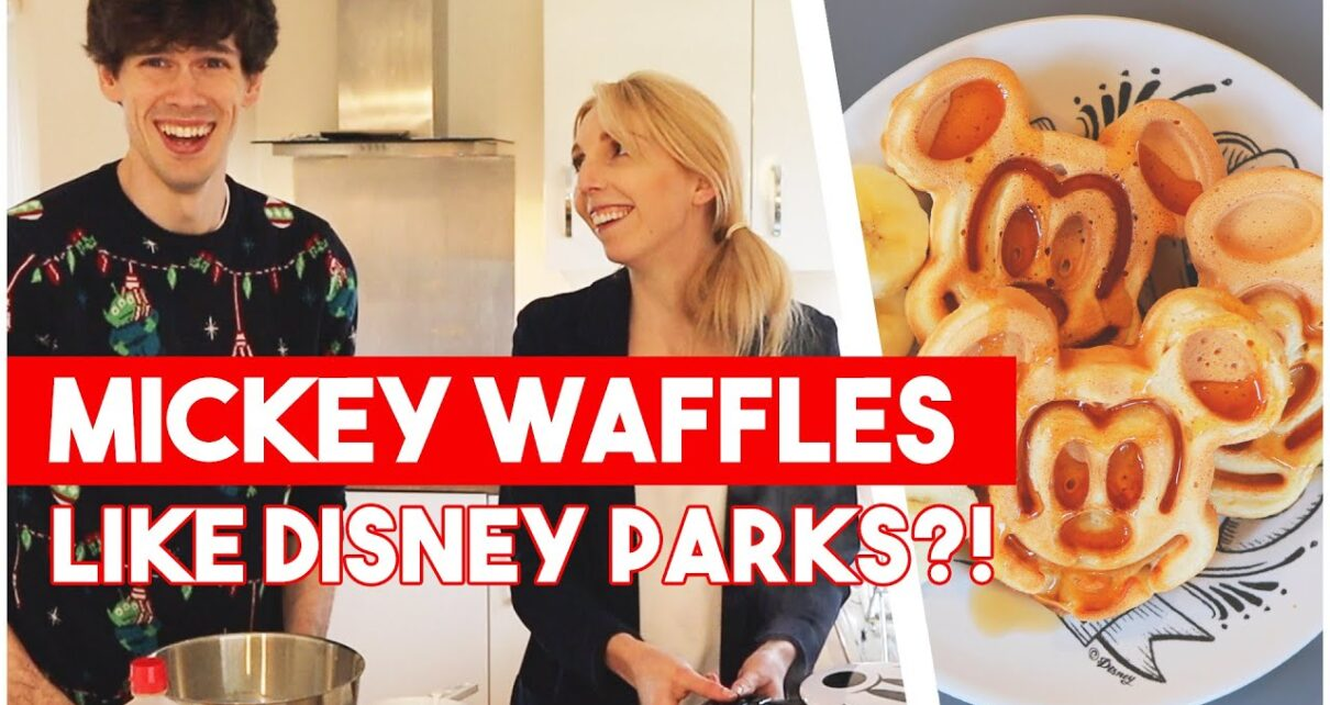 yt 250030 MICKEY WAFFLE MAKER Making Disney Waffles like the Disney Parks 1210x642 - MICKEY WAFFLE MAKER! Making Disney Waffles like the Disney Parks!