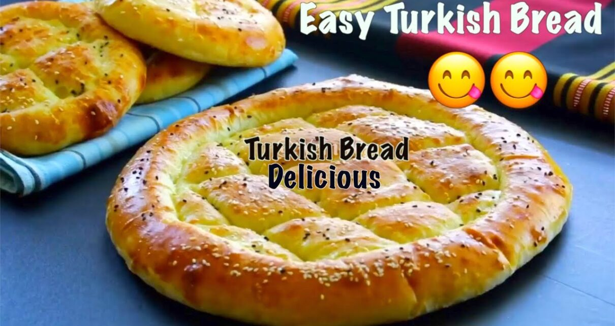 yt 250275 Turkish Bread The Easy And Most Delicious Bread You Will Ever Make 5 Minute Indian Recipe 1210x642 - Turkish Bread | The Easy And Most Delicious Bread You Will Ever Make | 5-Minute Indian Recipe |