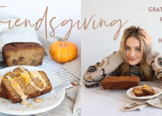 yt 251496 Friendsgiving in L.A. Healthy Pumpkin Bread Recipe Come cook with me Sanne Vloet 322x230 - Friendsgiving in L.A. | Healthy Pumpkin Bread Recipe | Come cook with me | Sanne Vloet