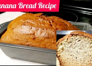 yt 251892 HOW TO BAKE BANANA BREADBANANA BREAD RECIPE ELIEANDMEVIDEOS 322x230 - HOW TO BAKE BANANA BREAD/BANANA BREAD RECIPE #ELIEANDMEVIDEOS