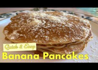 yt 252735 Banana Pancakes Quick Easy Breakfast Home Cooking Recipes 322x230 - Banana Pancakes | Quick & Easy Breakfast | Home Cooking Recipes