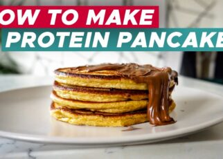 yt 252794 How To Make Protein Pancakes Without Banana in 10 MINUTES 322x230 - How To Make Protein Pancakes (Without Banana) in 10 MINUTES