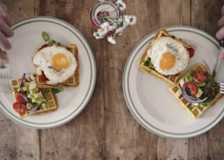 yt 252819 Savory Waffles with Apple Salad 322x230 - Savory Waffles with Apple Salad