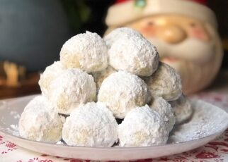 yt 252871 Christmas Cookies Snowball cookies .... Easy to make ... Melt in mouth Nutty  322x230 - Christmas Cookies ❄️ || Snowball cookies .... Easy to make ... Melt in mouth & Nutty ⛄️