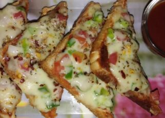 yt 252960 How to make bread pizza 322x230 - तवा पर ब्रेड पिज़्ज़ा बनाने का विधि|How to make bread pizza