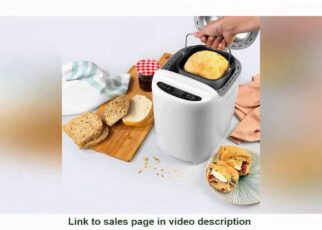 yt 253057 UKDisplay Progress EK4219P Digital Breadmaker 550 W Rapid Bake 11 Baking Functions LCD 322x230 - UK#Display ✒️ Progress® EK4219P Digital Breadmaker | 550 W | Rapid Bake | 11 Baking Functions | LCD