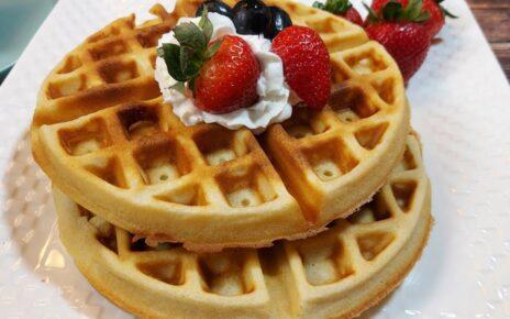 yt 253486 Easy Waffle Recipe How To Make Waffle Shorts 464x290 - Easy Waffle Recipe   How To Make Waffle   #Shorts